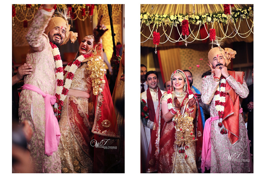 Stunning Pictures of Singer Akriti Kakkar and Chirag Arora's Wedding