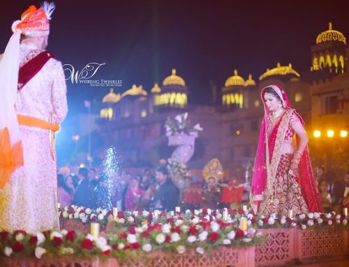 Grand Destination Wedding of Divya and Bhavesh