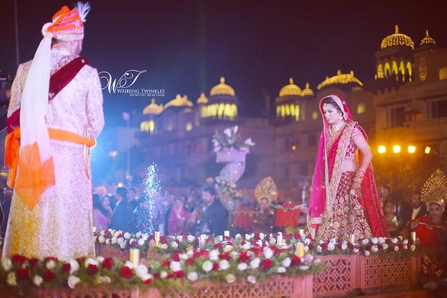 Grand Destination Wedding of Divya and Bhavesh