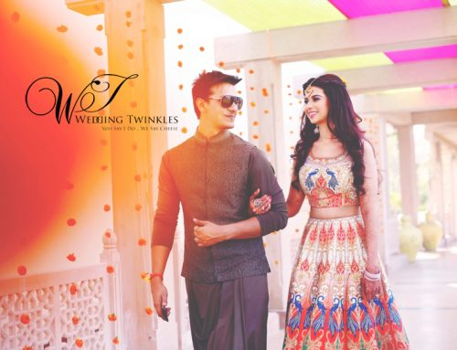 Kanishk and Sheena's destination wedding at Jodhpur