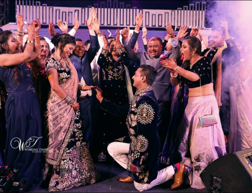 Candid Photography for Amit & Anjali's Engagement