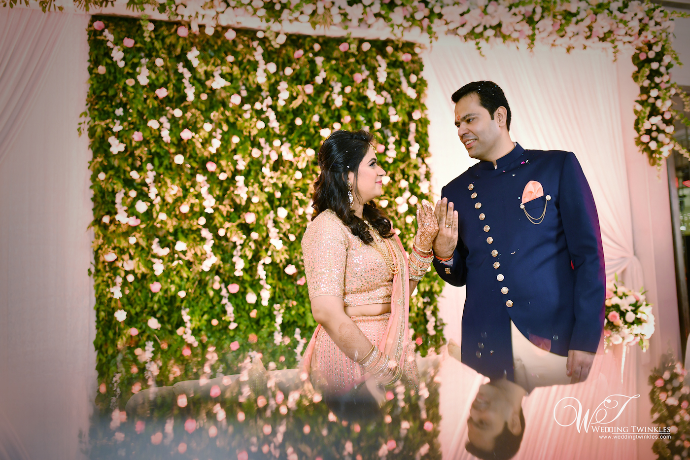 Engagement ceremony photography for Richa and Varun in Delhi