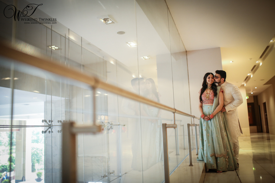 Engagement Photography at The Leela Palace, New Delhi – Sonakshi & Manas