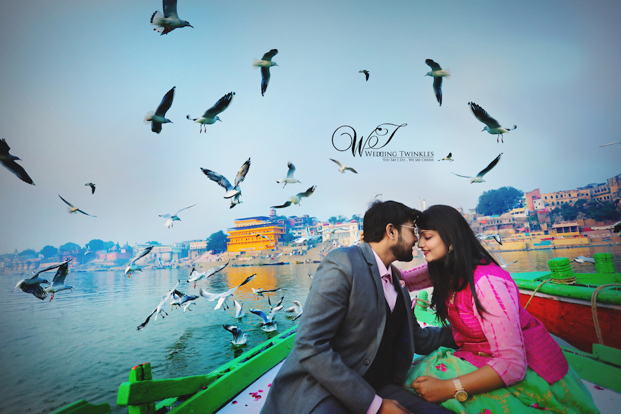 Prewedding Photography in Varanasi (Banaras) – Utsav & Saloni