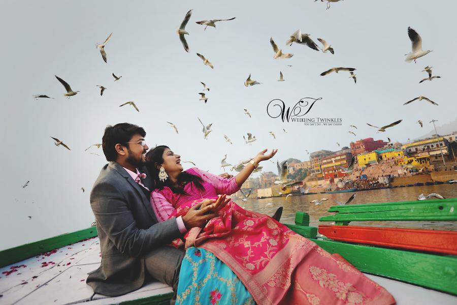 pre wedding photography banaras ghats
