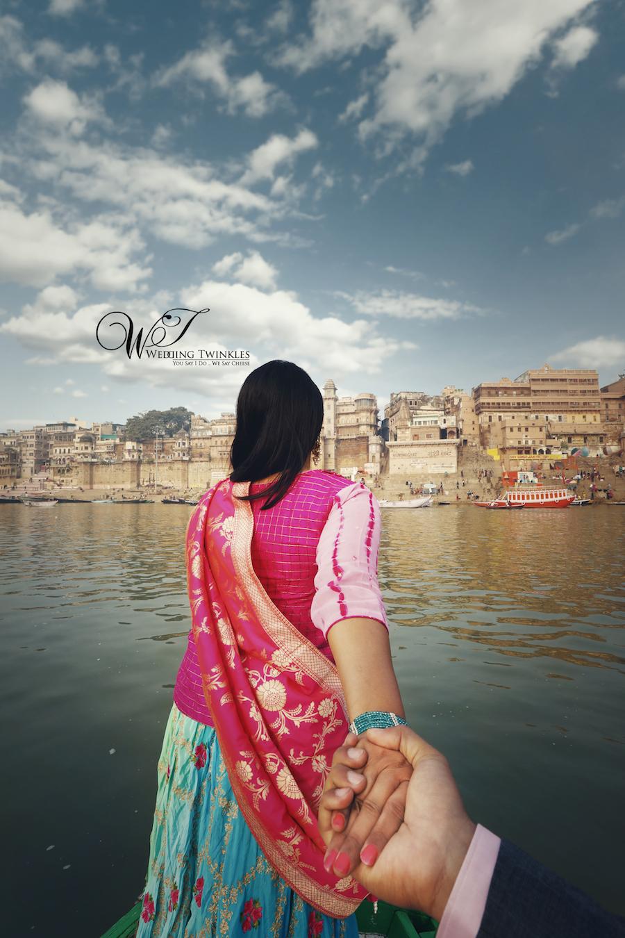 banaras city pre wedding photography