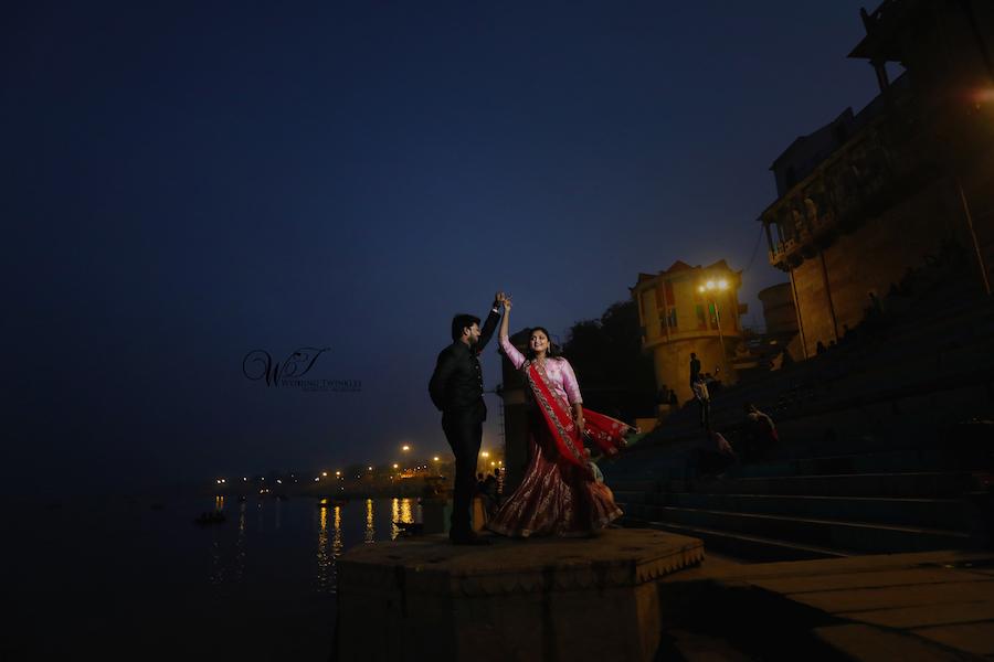 varanasi pre wedding photography
