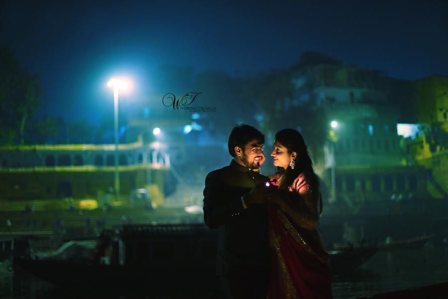 best indian pre wedding photos Banaras