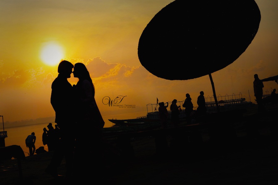 varanasi ghats pre wedding photoshoot