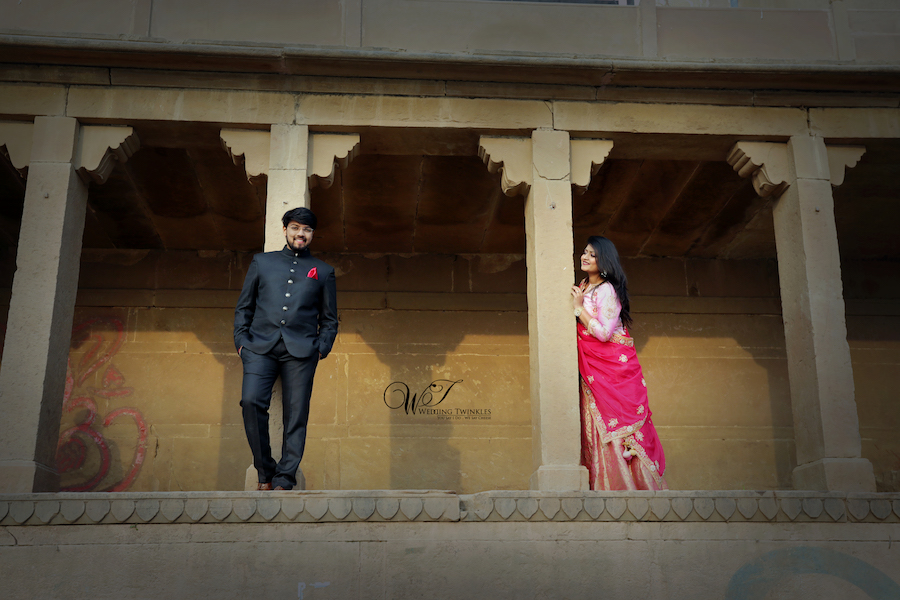 best pre wedding photo Banaras