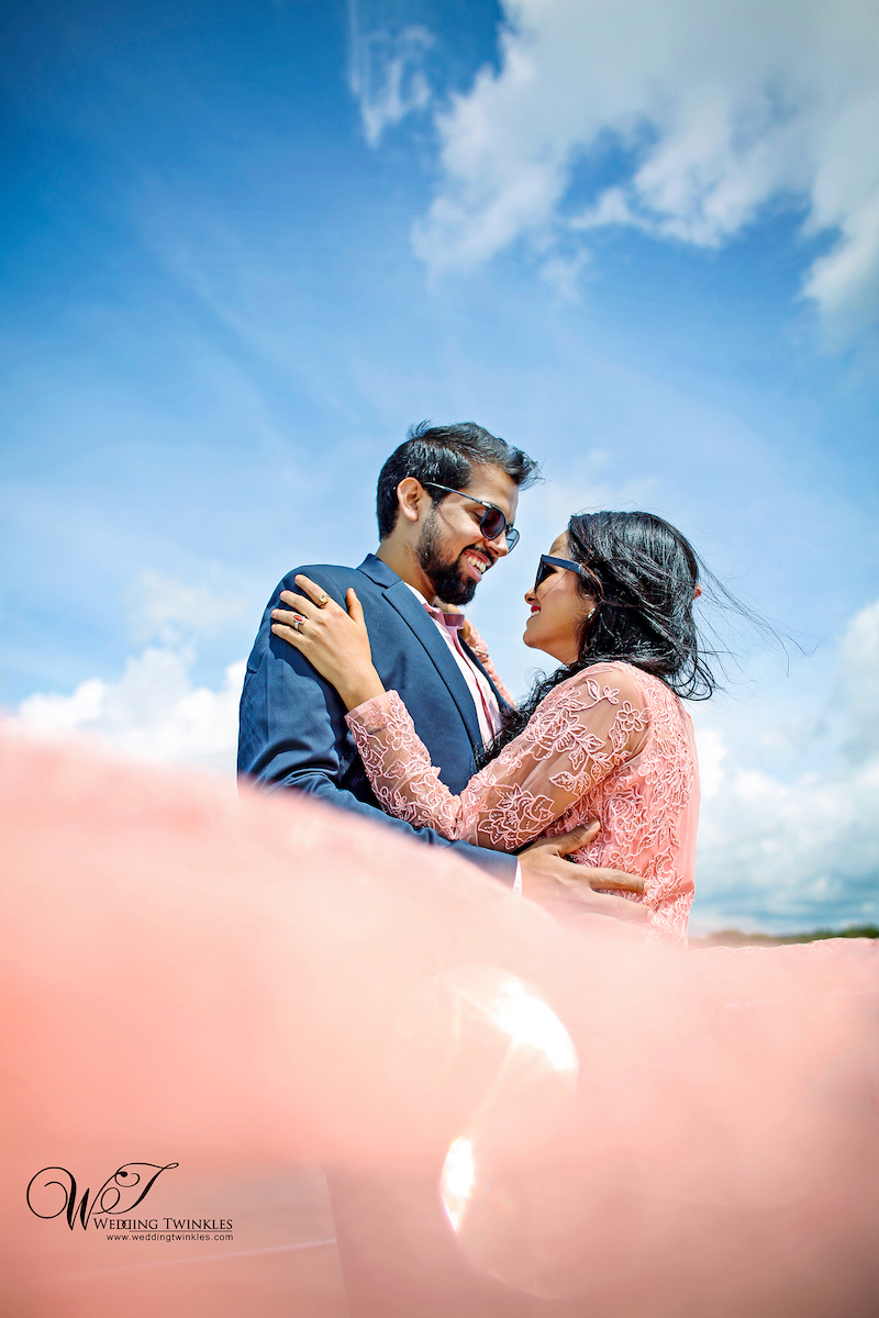 Breathtaking pictures from latest Prewedding photography in Goa