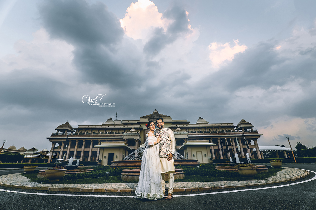 ITC Grand Bharat Pre Wedding Photography
