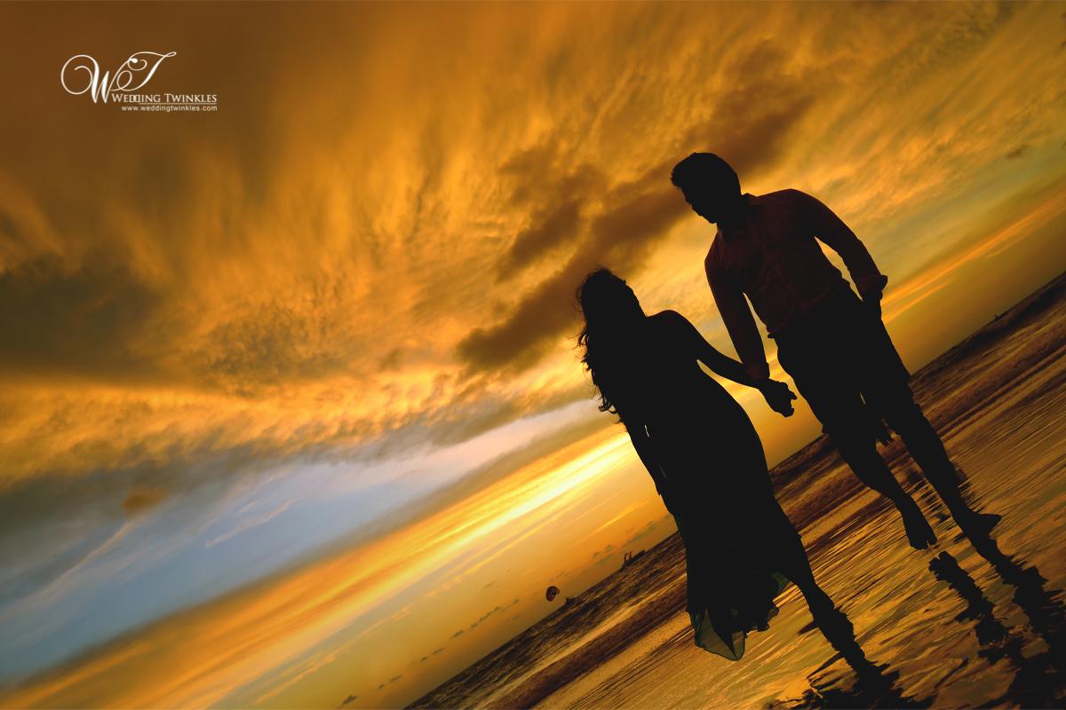Goa pre wedding photography