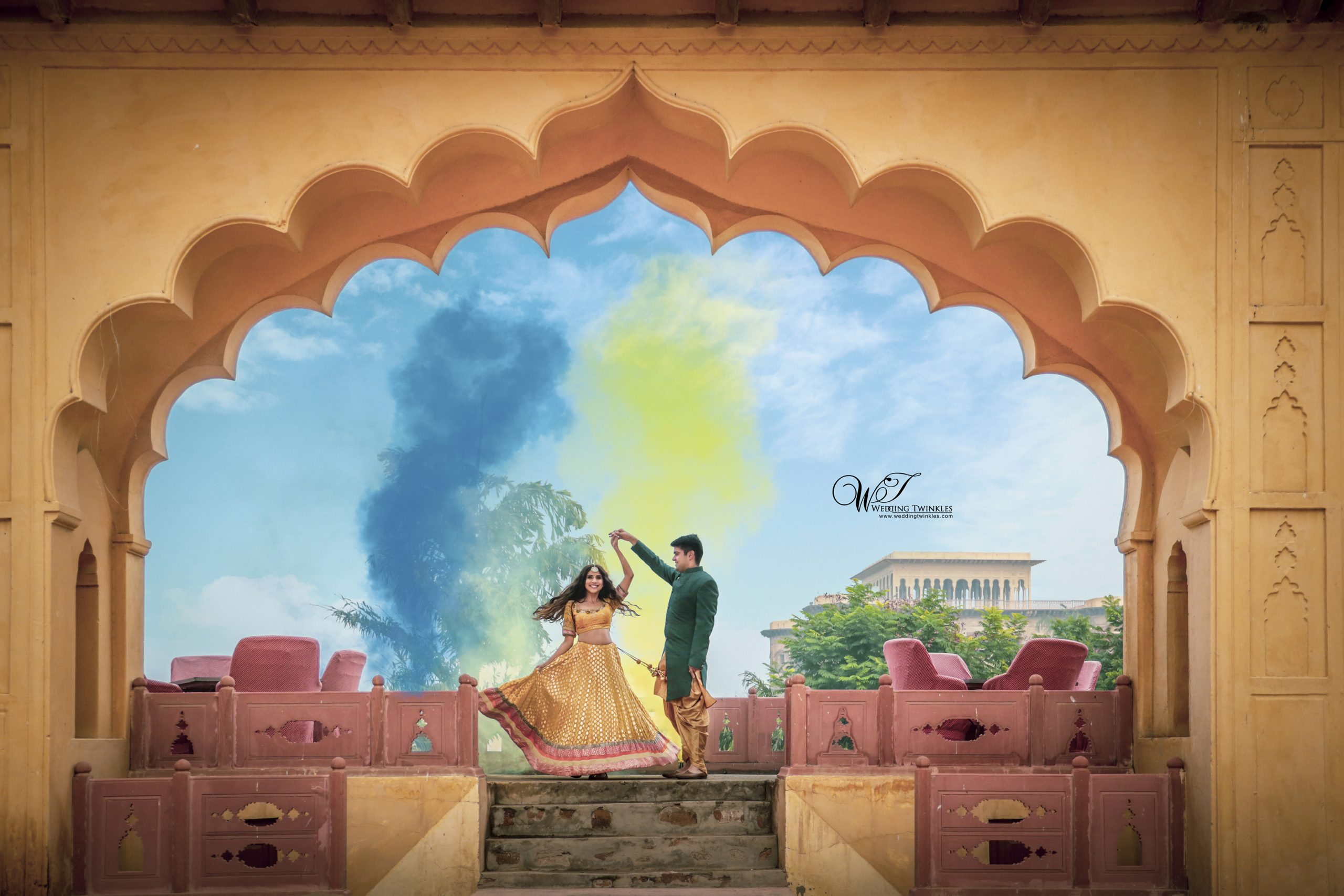 Neemrana Fort Palace Pre Wedding Images
