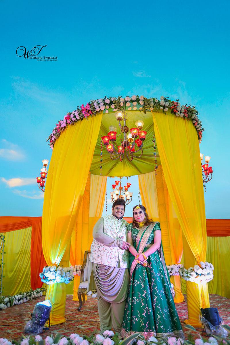 indian Mehendi ceremony photography