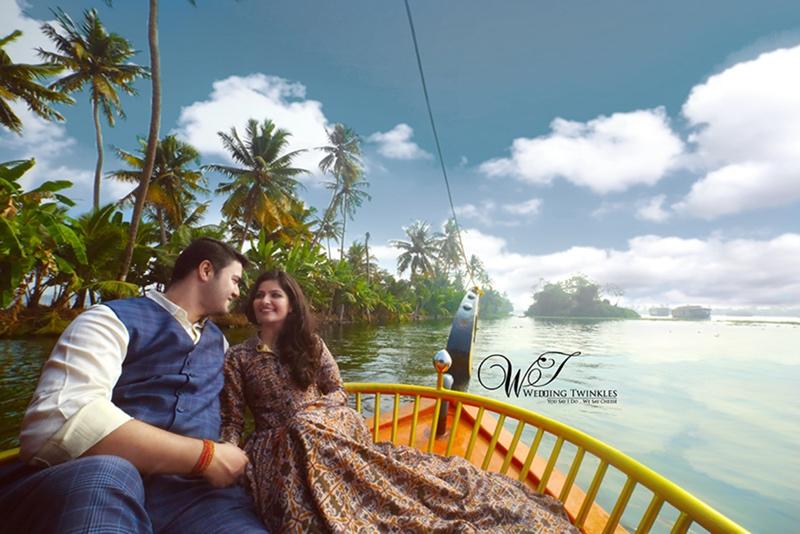 Kerela pre wedding photoshoot ideas
