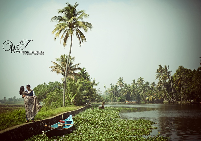 Kerela backwaters photoshoot