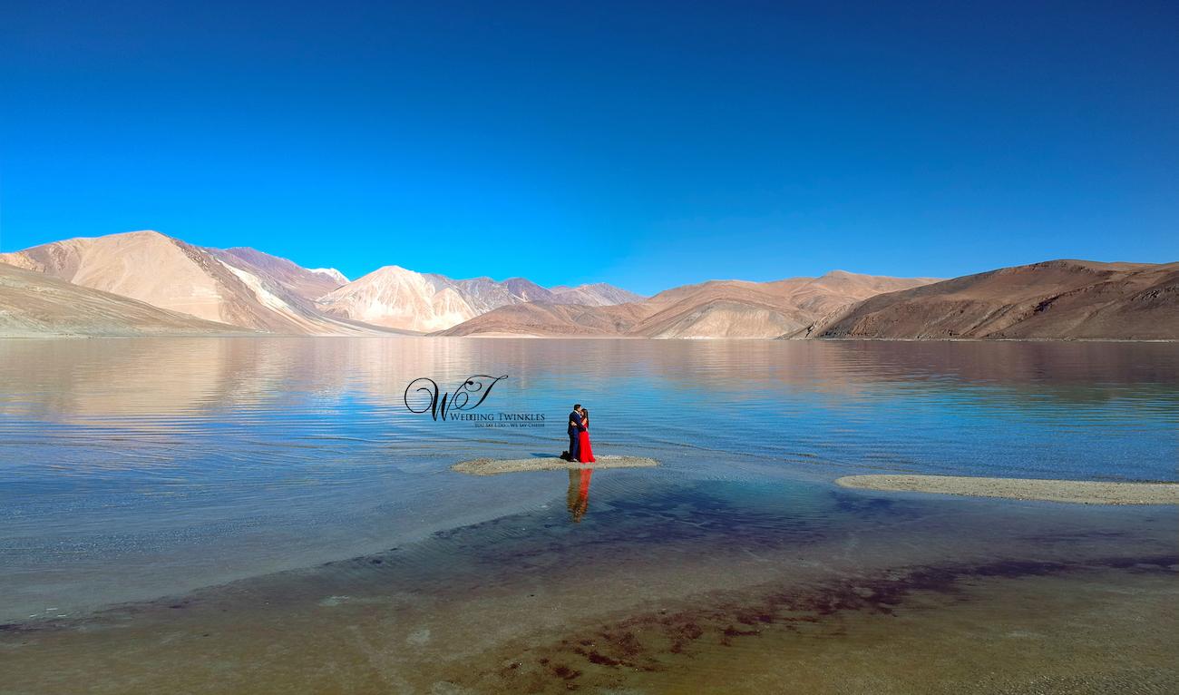 Ladakh pre wedding shoot price