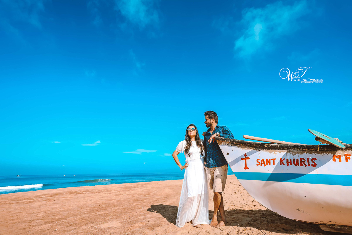 Goa Pre Wedding Shoot ideas