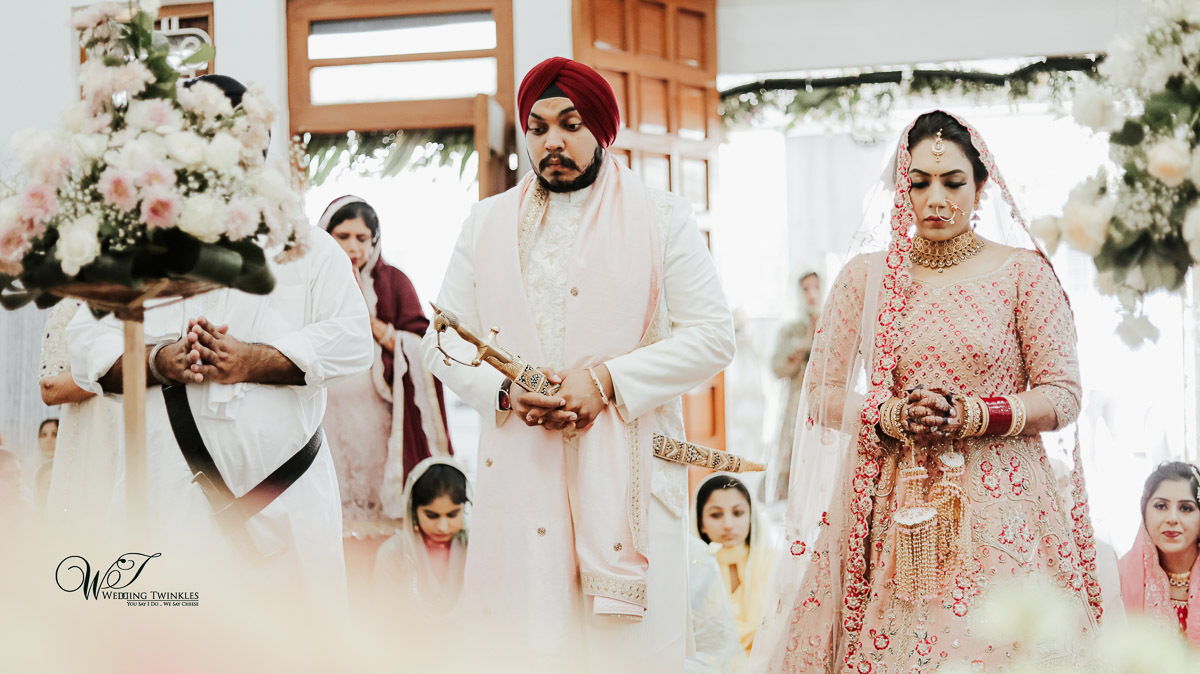 wedding photography in Gurudwara