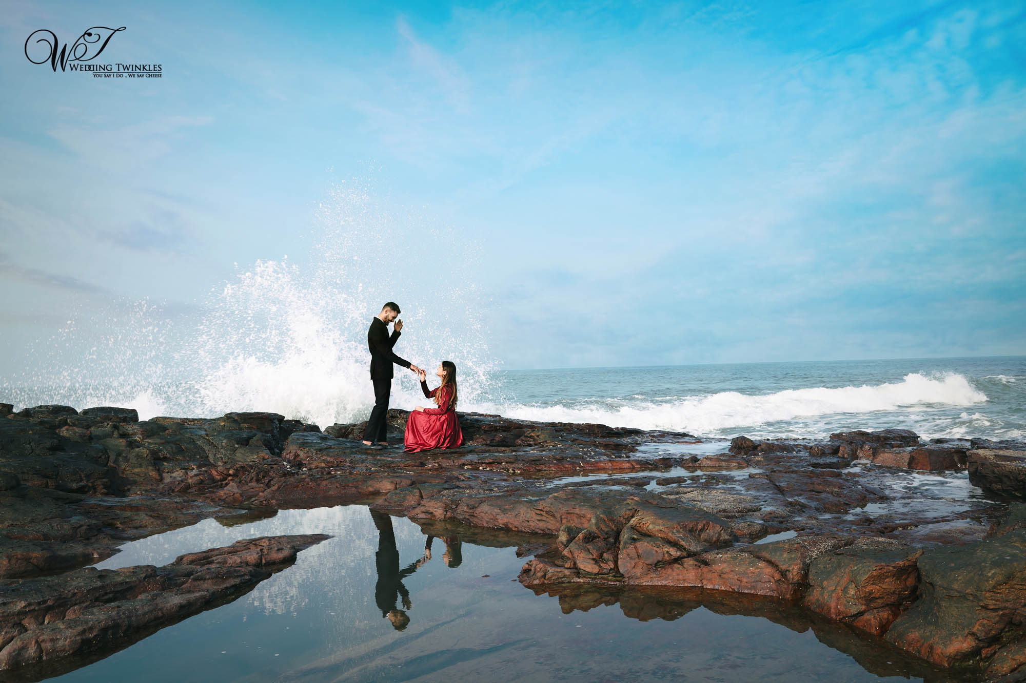 Pre wedding photoshoot goa